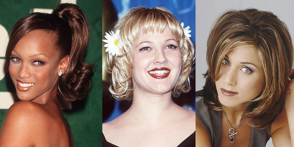 13 Hairstyles from the '90s You Forgot You Were Obsessed With