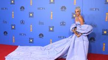 Lady Gaga's Golden Globes dress put up for auction, after being 'left at hotel'