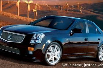 Free Cadillac download for Test Drive Unlimited