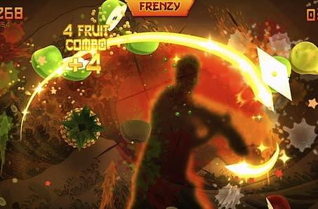 Fruit Ninja Kinect sells a million units; Jetpack Joyride update in April