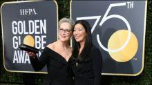 Der rote Teppich der Golden Globes ganz in Schwarz
