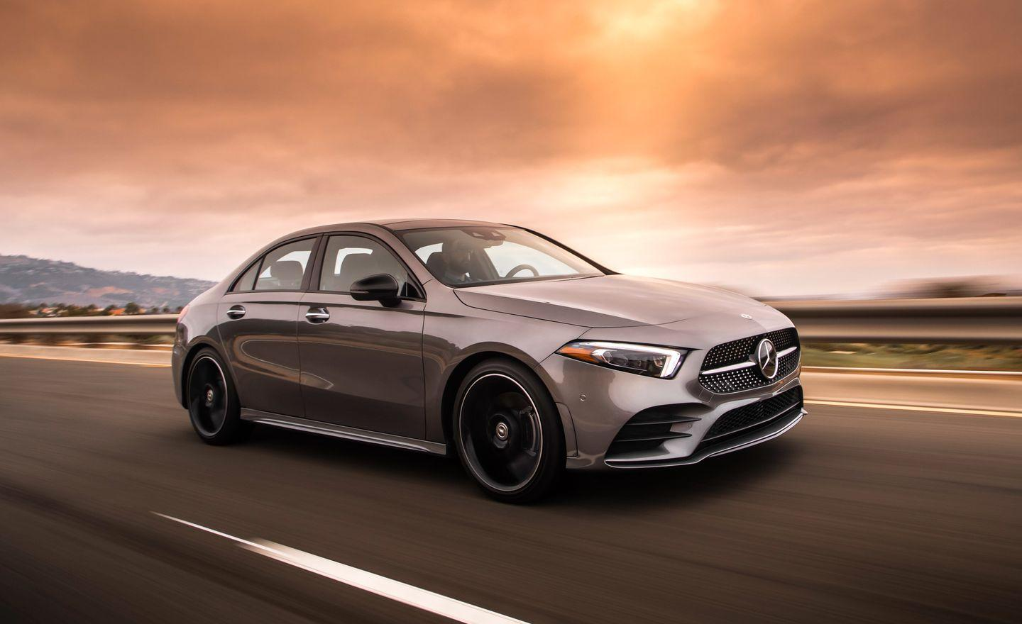 "<p>Under its steel skin, <a href=""https://www.caranddriver.com/mercedes-benz/a-class"" rel=""nofollow noopener"" target=""_blank"" data-ylk=""slk:the A-class"" class=""link rapid-noclick-resp"">the A-class</a> rides on an evolution of the transverse-engine platform underpinning the current CLA.</p>"