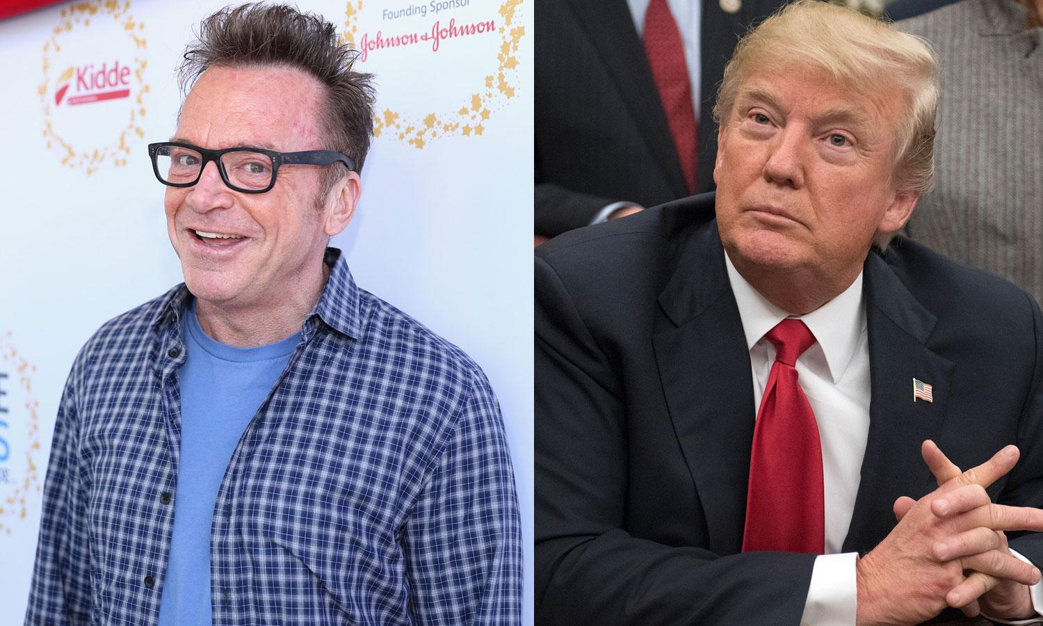 Secret Service agents stopped by Tom Arnold's house after anti-Trump tweets