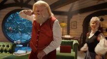 John Travolta recreates Pulp Fiction dance in a new advert – dressed as Santa