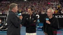 Ron Burgundy Just Stole the Show at the Australian Open by Trolling Roger Federer