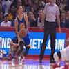 Stephen Curry crossed Chris Paul up so hard he breakdanced