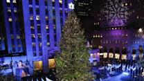 Stars Light Up Rockefeller Center