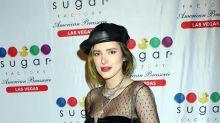 Bella Thorne cumple 21 con un look parisino en Las Vegas