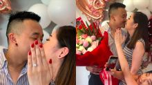 Woman uses cousin's manicured hand in engagement photos (because her own nails weren't done)