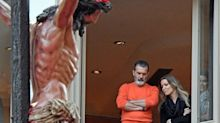 Antonio Banderas, las Campos y otros famosos que disfrutan de las procesiones Semana Santa