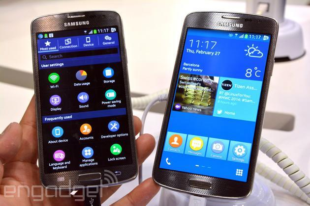 Hands-on with Samsung's vastly improved Tizen OS