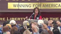 Sarah Palin in Ocean Co. for campaign rally