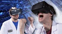 Battle Damage - Oculus Rift vs Samsung Gear VR vs Virtual Boy