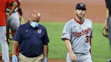 Stephen Strasburg placed on IL due to lingering nerve issue in pitching hand