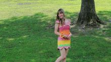 Woman makes dress out of more than 10,000 Starburst candy wrappers