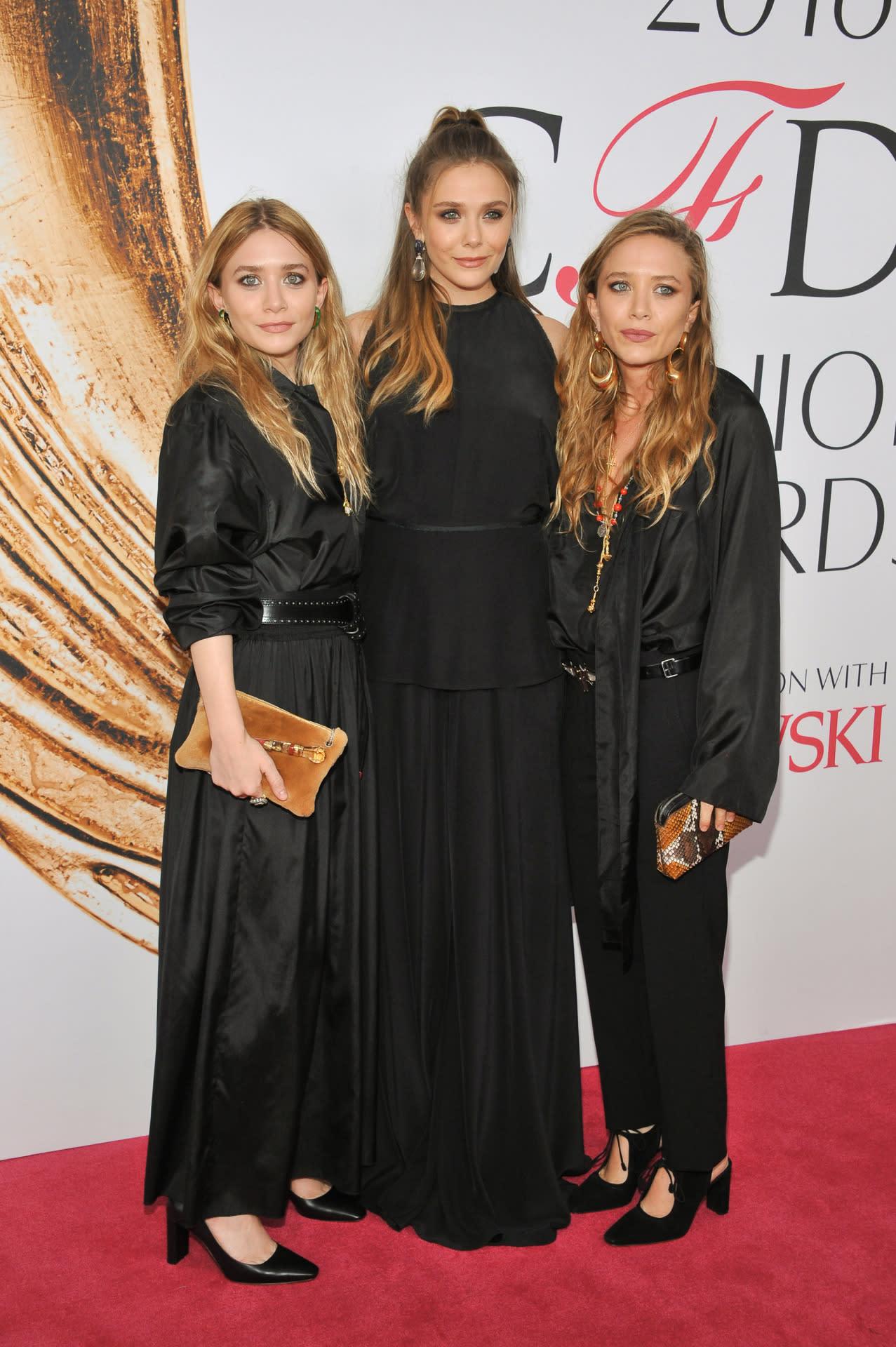 Ashley, Mary-Kate, and Elizabeth Olsen Make Rare ...