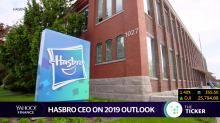 """Hasbro CEO on toy industry, Toys """"R"""" Us, and future projects"""