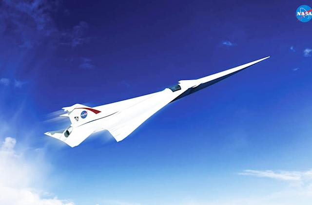 NASA picks a supersonic jet design for its X-plane initiative