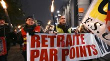 French unions face moment of truth in fight over pensions
