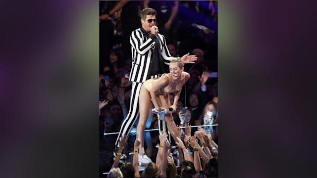 Miley Cyrus' Former TV Mom Not Impressed By Racy VMA Performance