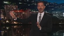 Jimmy Kimmel goes after Donald Trump Jr. over tweet during Kavanaugh hearing
