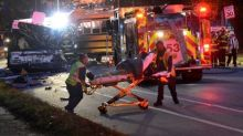 Bus driver was speeding in deadly Baltimore crash: government report