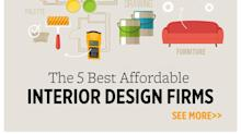 The 5 Best Affordable Interior Design Firms