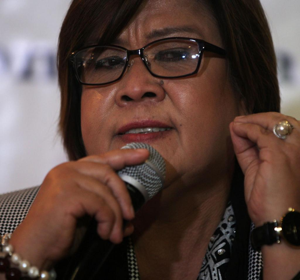 De Lima: President's P2.5-B Intel Funds Prone To Abuse