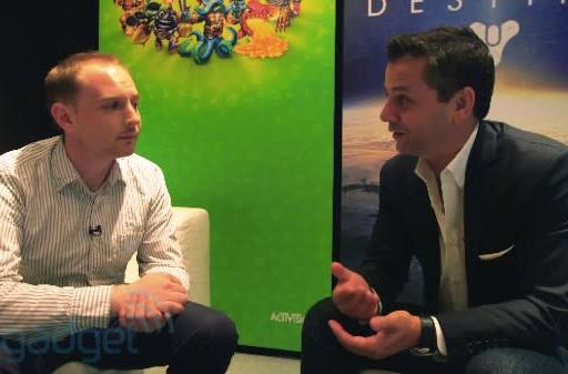 Activision CEO Eric Hirshberg on how Destiny was 'born modern' and why social connectivity will define the next-gen