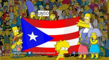 The Simpsons gets serious with Puerto Rico appeal message