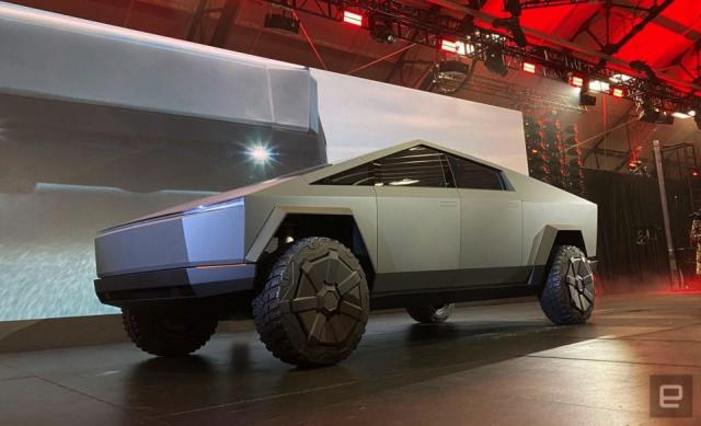 Tesla's Cybertruck won't get smaller any time soon