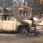 Little left to salvage after California wildfires