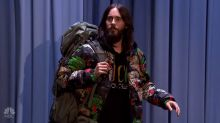 Jared Leto sets off on a weeklong hitchhiking tour of America