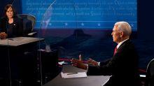 Présidentielle américaine : Kamala Harris et Mike Pence s'affrontent sur le Covid-19