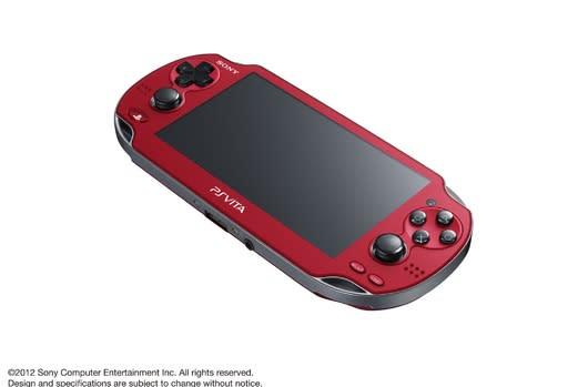 Vita getting Cosmic Red and Sapphire Blue models in Japan