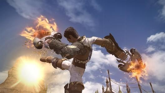 Final Fantasy XIV shows off the jobs and professions of 2.0