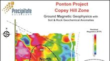 Precipitate's Ground Magnetic Survey Further Refines Drill Targets within Copey Hill Zone at Ponton Project, Dominican Republic