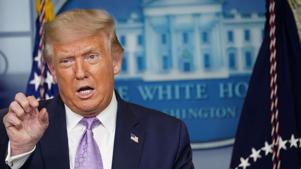 Trump Floats False Racist Birther Theory About Kamala Harris