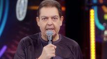"""No 'Domingão', Faustão explica perda de peso e brinca: """"Esvaziei"""""""