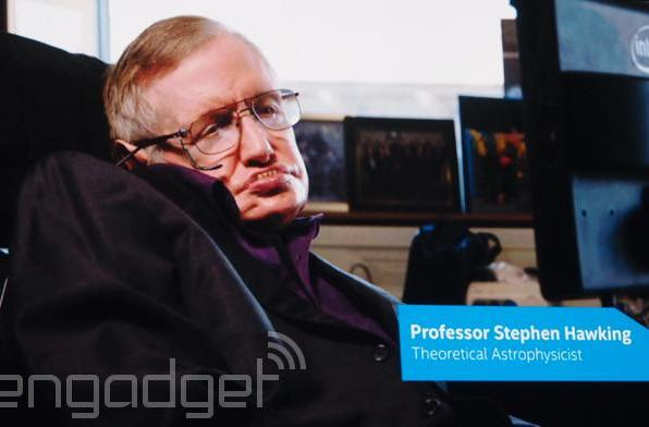 Stephen Hawking asks devs to help Intel build a connected wheelchair