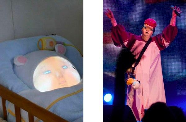Baby simulator surfaces in Japan, Devo wants its mascot back (video)