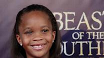 Quvenzhane Wallis takes fame in stride