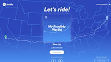 Spotify's latest feature creates a playlist for your road trip