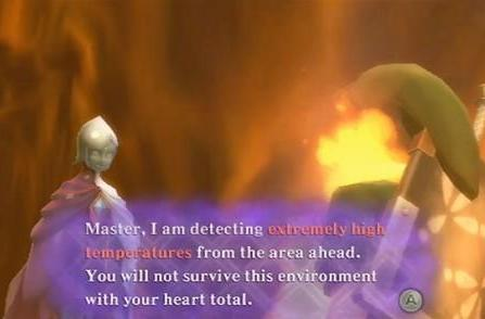 Latest Skyward Sword assets put Link in a trial by fire