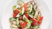 Make a Pork-Watermelon Salad Before Summer Vanishes