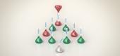 Hershey's Kisses' Christmas ad. (Hershey's Kisses)