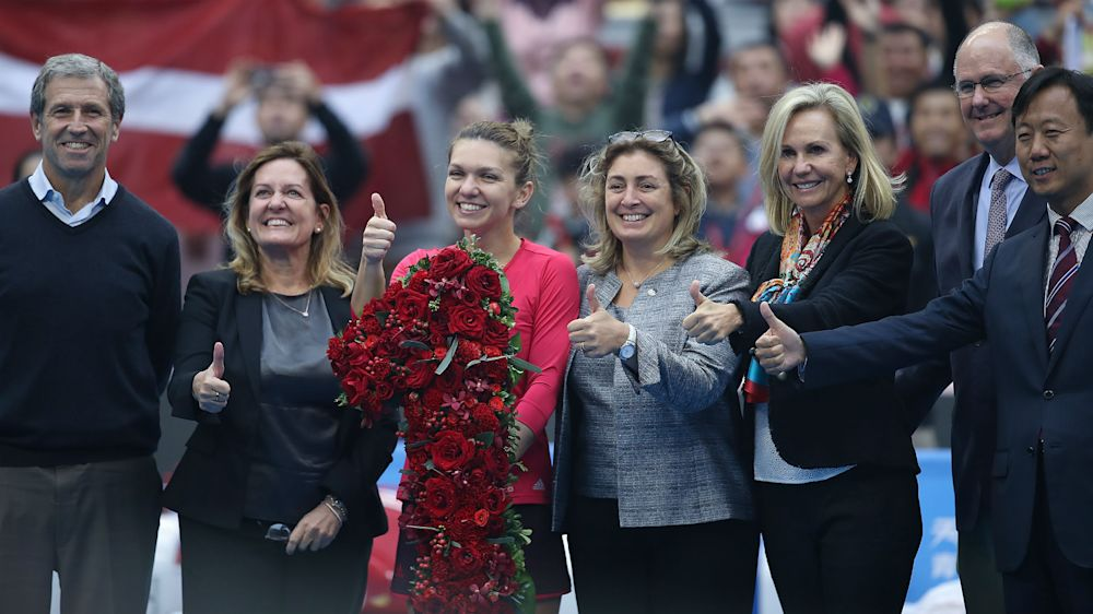 New number one Halep eager to retain focus