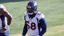 Miller has ankle surgery, Broncos get good news on Sutton