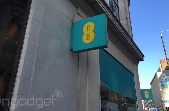 EE flips the switch on its faster 4G network in London
