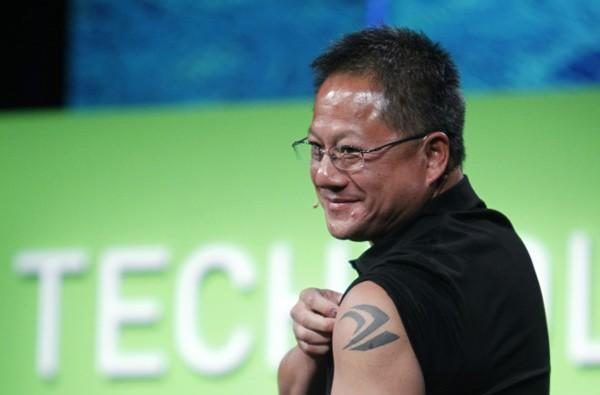Caption Contest: NVIDIA CEO flaunts tattoo on stage, still serving cans of whoop-ass